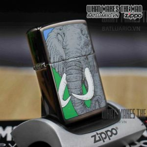 ZIPPO LA MÃ 1992 – BARRET SMYTHE MIDNIGHT COLECTION – ELEPHAN 5