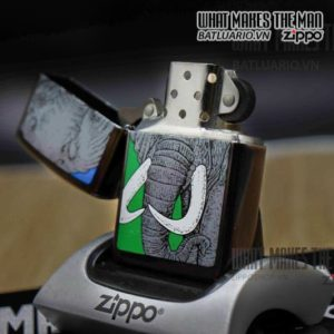 ZIPPO LA MÃ 1992 – BARRET SMYTHE MIDNIGHT COLECTION – ELEPHAN 6