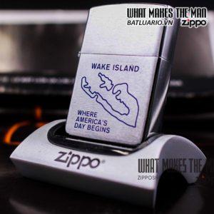 zippo la mã 1992 wake island 1