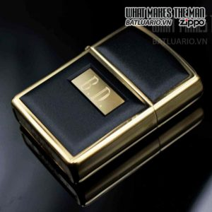 zippo la mã 1994 zippo ultralite black gold plate 7