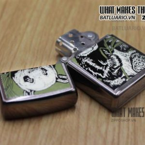 ZIPPO LA MÃ 1995 – BARRET SMYTHE MIDNIGHT COLECTION – PEAR 3