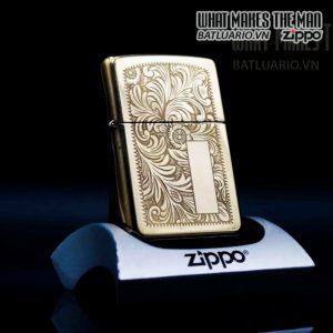 zippo la mã 1995 canada venetian đồng nguyên khối hoa văn ý 9