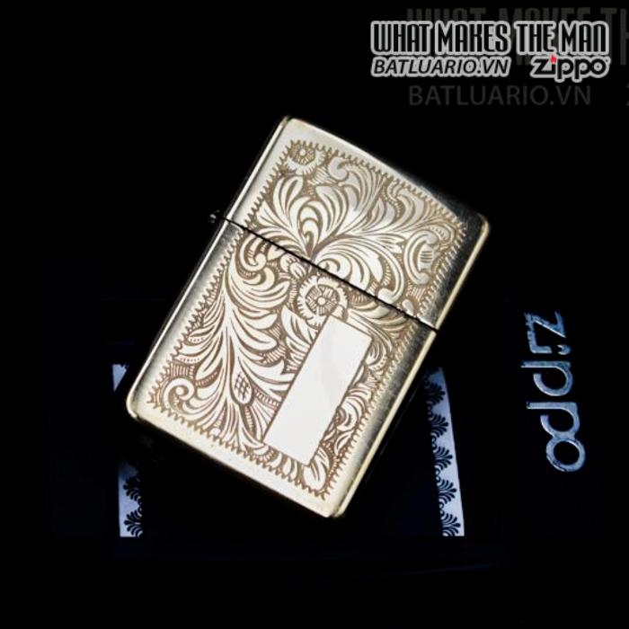 zippo la mã 1995 canada venetian đồng nguyên khối hoa văn ý 8
