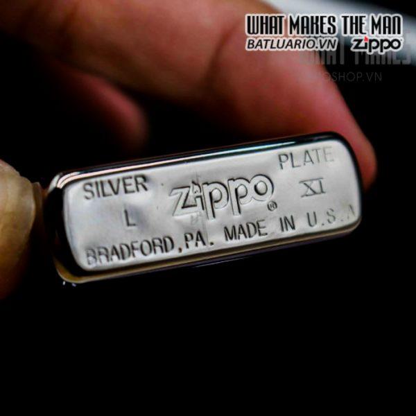 zippo la mã 1995 silver plate henry maske 5