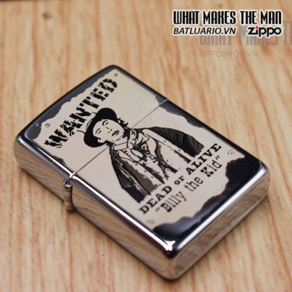 zippo la mã 1996 wanted billy the kid daed or alive 7