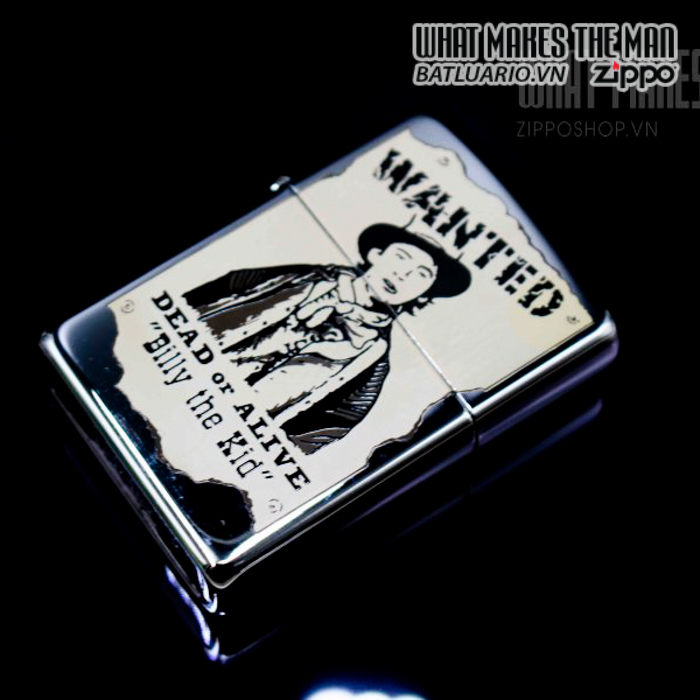 zippo la mã 1996 wanted billy the kid daed or alive 2