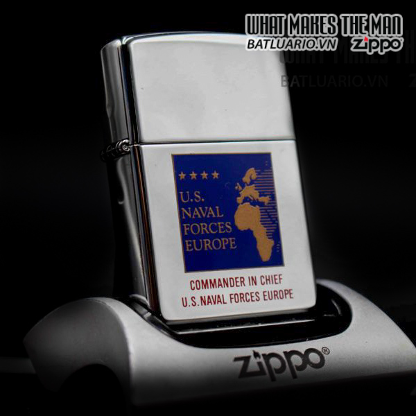 ZIPPO LA MÃ 1997 – COMMANDER IN CHIEF US NAVAL FORCES EUROPE 11