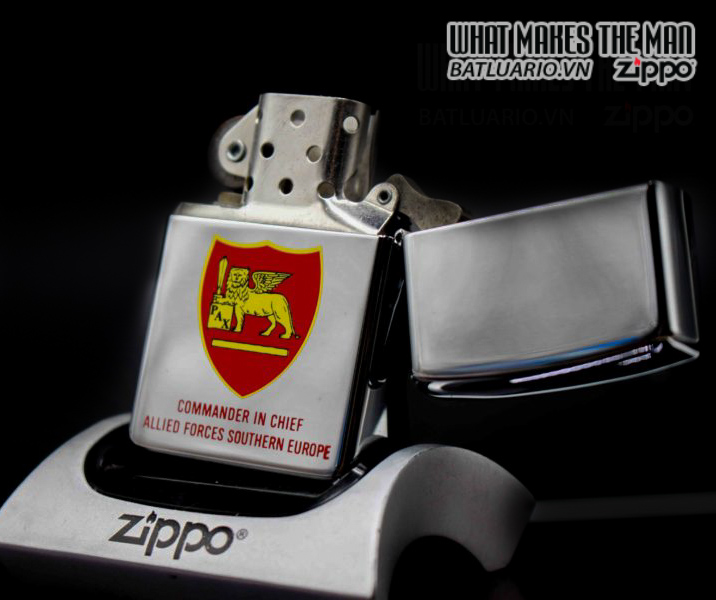 ZIPPO LA MÃ 1997 – COMMANDER IN CHIEF US NAVAL FORCES EUROPE 10