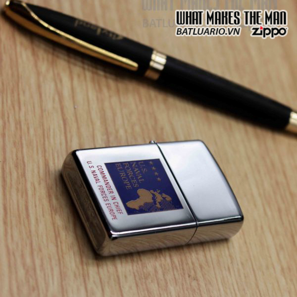 ZIPPO LA MÃ 1997 – COMMANDER IN CHIEF US NAVAL FORCES EUROPE 4