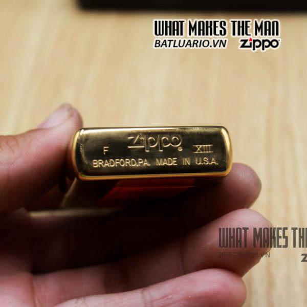 zippo la mã 1997 đồng nguyên khối cafe hard rock 2