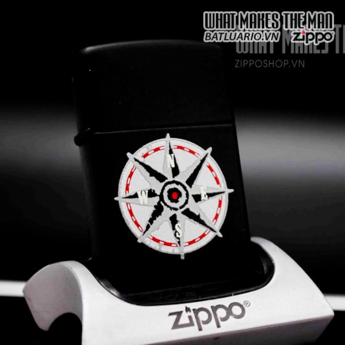 zippo la mã 1997 marlboro compass 6