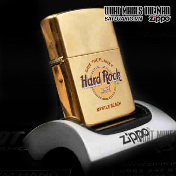 ZIPPO LA MÃ 1998 – ĐỒNG NGUYÊN KHỐI – CAFE HARD ROCK 2