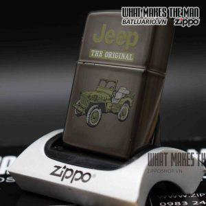zippo la mã 1998 mid night jeep