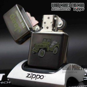 zippo la mã 1998 mid night jeep 9