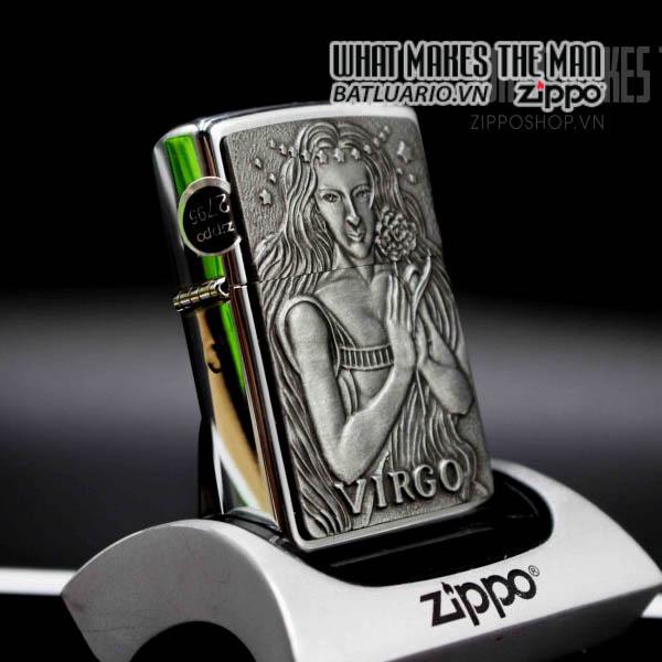 zippo la mã 1999 zodiac virgo 1