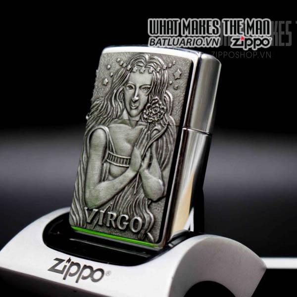zippo la mã 1999 zodiac virgo 11