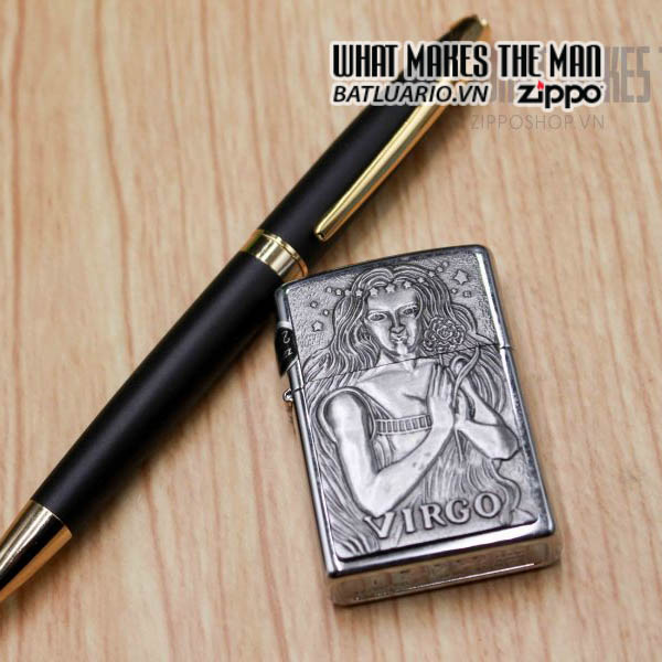 zippo la mã 1999 zodiac virgo 2