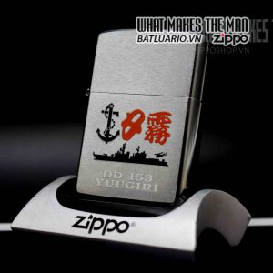 zippo la mã 2000 tàu nhật bản dd153 yuugiri 2