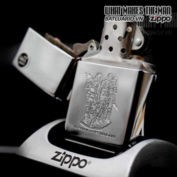 ZIPPO LA MÃ 2000 – VIETNAM VETERANS MEMORIAL 8