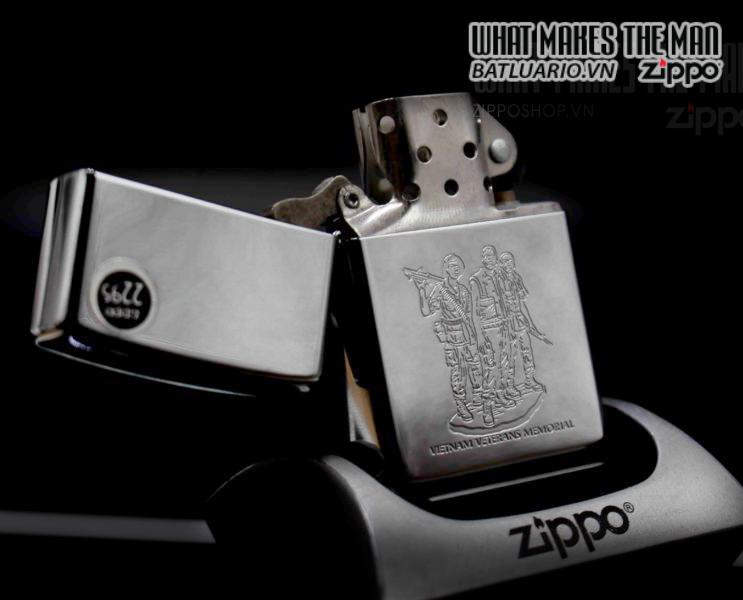 ZIPPO LA MÃ 2000 – VIETNAM VETERANS MEMORIAL 7