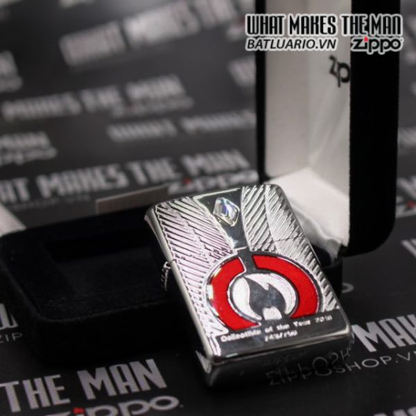 ZIPPO LIMITED ARMOR CASE COLLECTIBLE OF THE YEAR 2016 EU 7