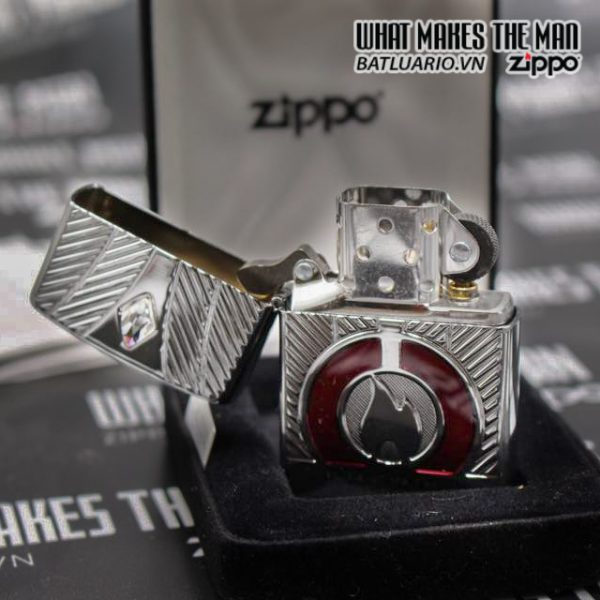 ZIPPO LIMITED ARMOR CASE COLLECTIBLE OF THE YEAR 2016 EU 6