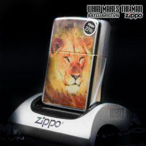 ZIPPO LION HIGH POLISH CHROME 4