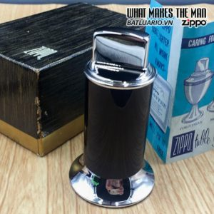 zippo table moderne black rhodium finish 3