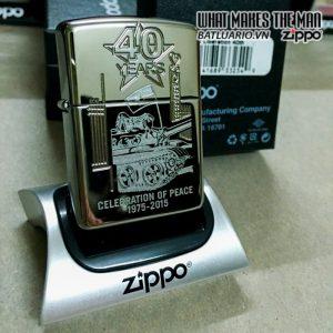 zippo vietnam liberation 40th zippo kỉ niêm 40 ăm giải phóng miến nam việt nam