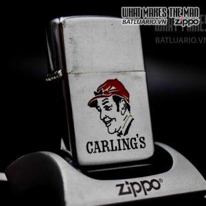 zippo xưa 1949 canada pat pend carlings 1