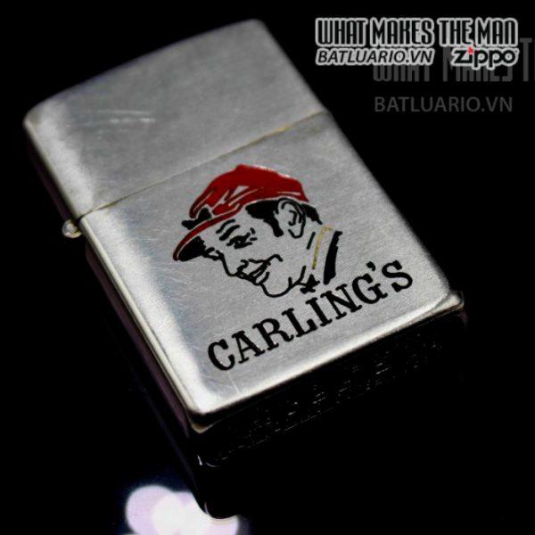 zippo xưa 1949 canada pat pend carlings 9