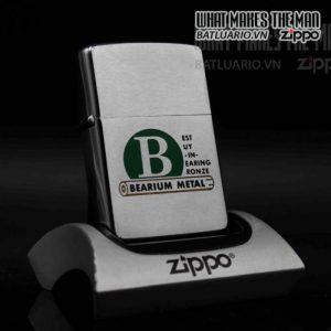 zippo xưa 1959 bearium metal 1