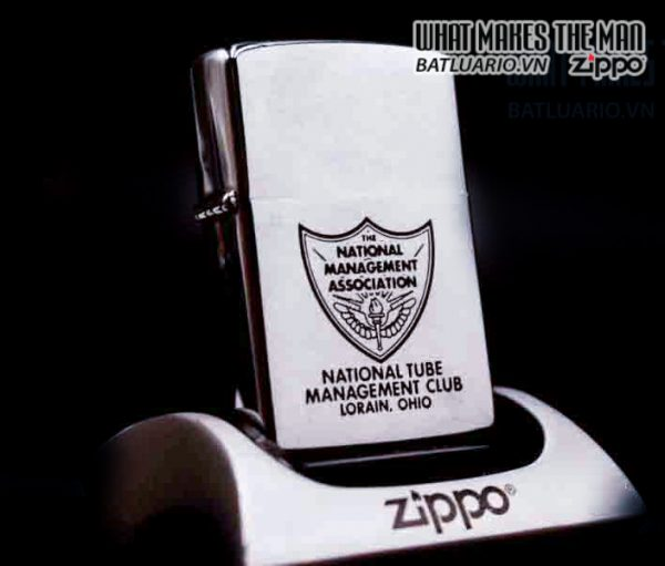 ZIPPO XƯA 1965 – NATIONAL TUBE MANAGEMENT CLUB LORAIN OHIO 1