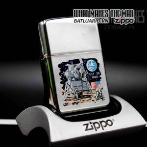 zippo xưa 1969 town country moon landing 1969 1
