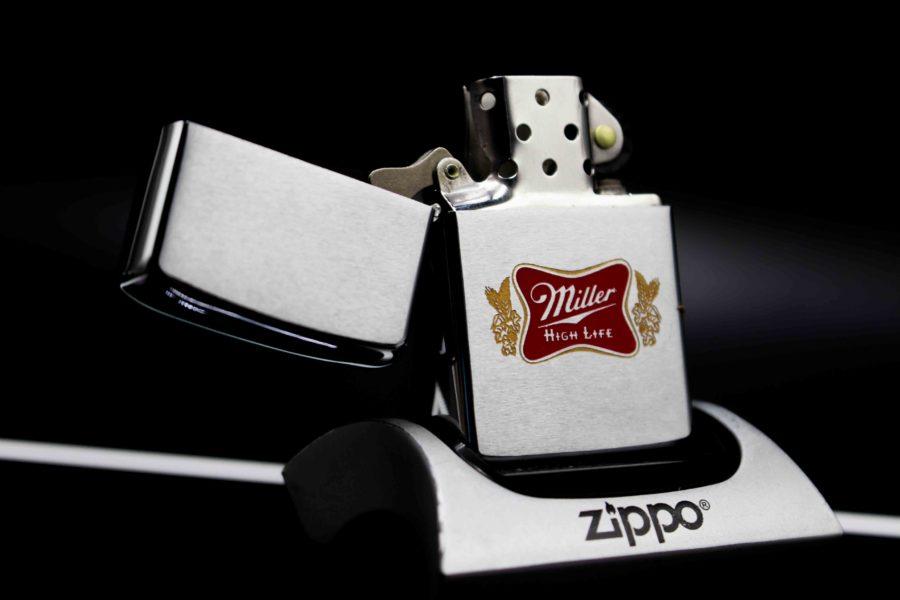 zippo xưa 1973 miller high life 6