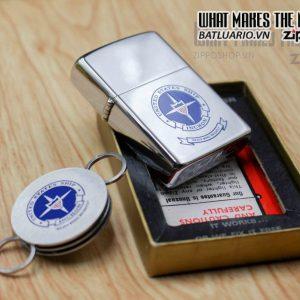 ZIPPO XƯA 1977 – UNITED STATES SHIP INCHON 1