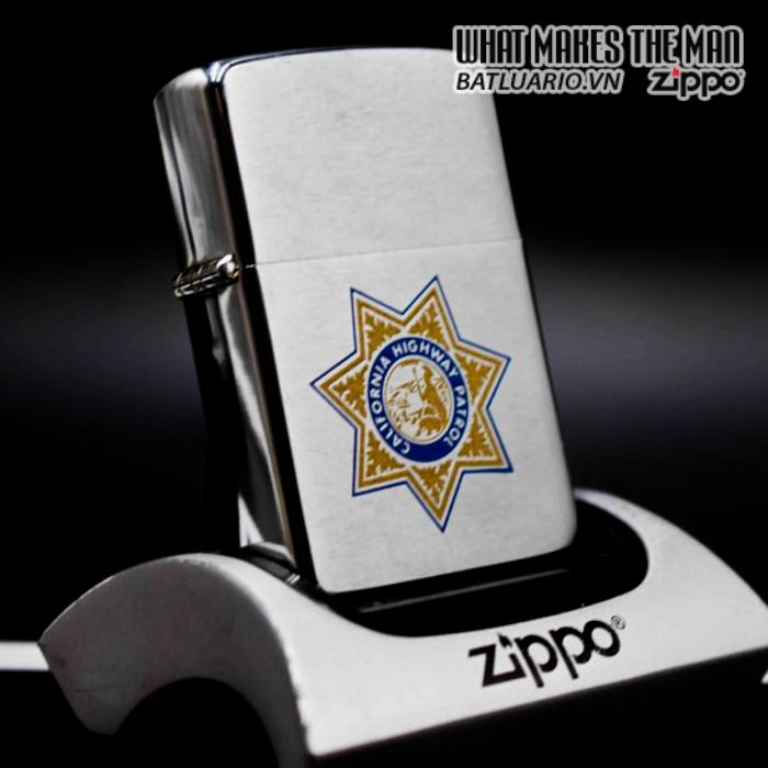 zippo xưa 1981 califonia highway patrol 6