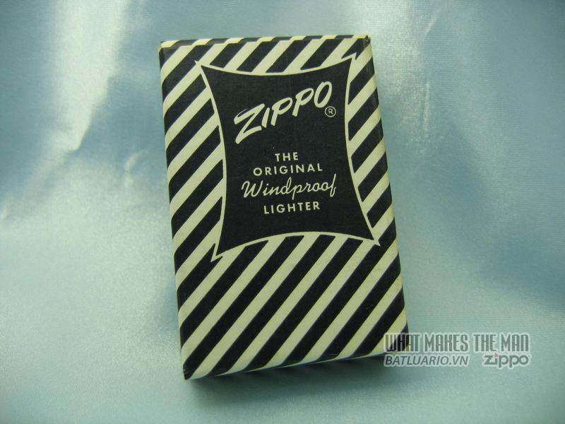 Box Zippo Canadian return 1950s 2