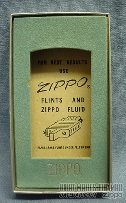 Box Zippo Slim Canada 1956-1958