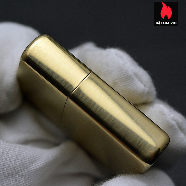 Zippo 168 - Zippo Armor Brushed Brass 13