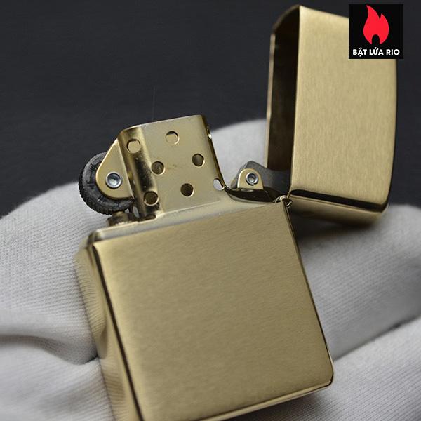 Zippo 168 - Zippo Armor Brushed Brass 18