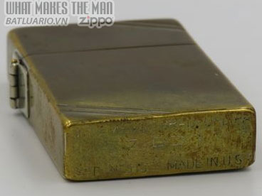 Zippo 1933 Tall Brass with hook cam 6
