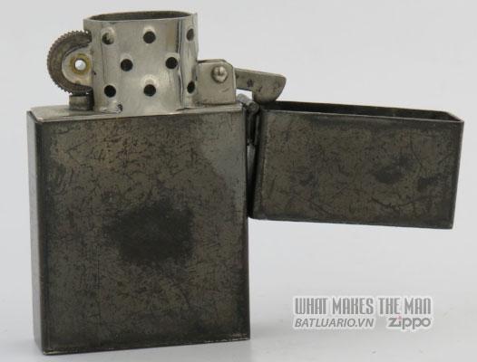 Zippo 1933 Tall Prototype gunmetal hook cam 10