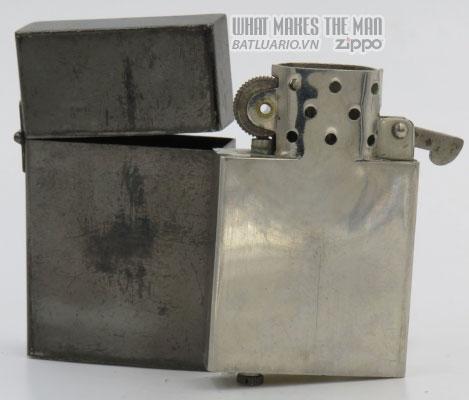 Zippo 1933 Tall Prototype gunmetal hook cam 14