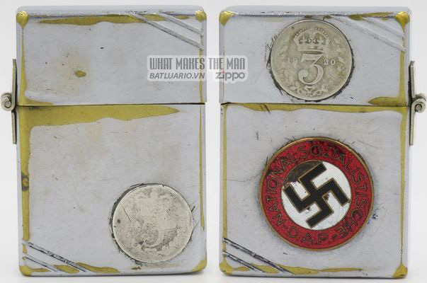 Zippo 1934-36 - Zippo swastika English 3p