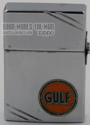 Zippo 1934 Metallique Gulf Oil
