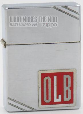 Zippo 1936 Metallique initials OLB