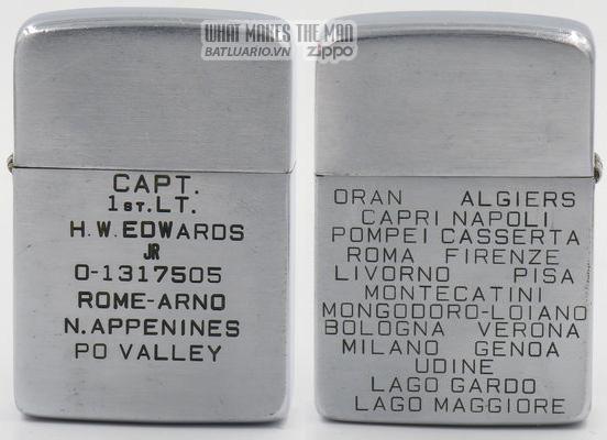 Zippo 1938-39 - WWII Capt
