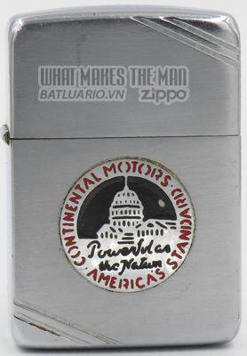 Zippo 1940-41 Metallique Continental Motors
