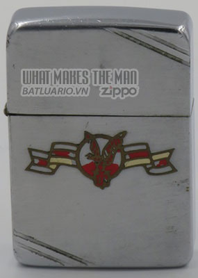 Zippo 1940-41 Metallique with Flying Eagle